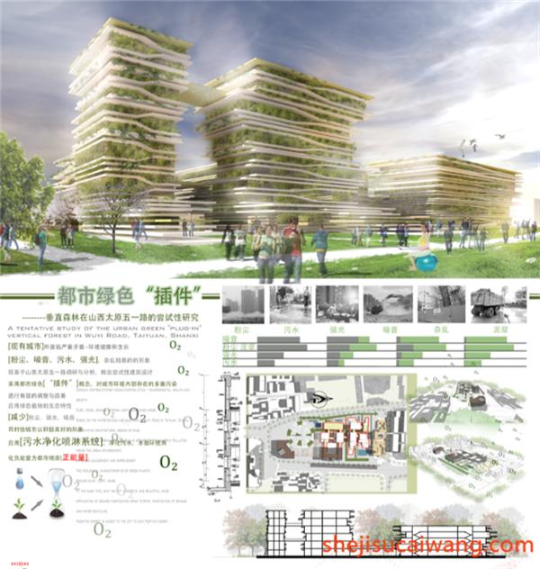 垂直绿色住宅