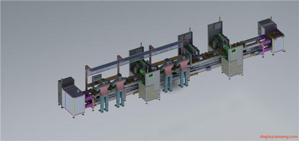 输送机Solidworks模型1