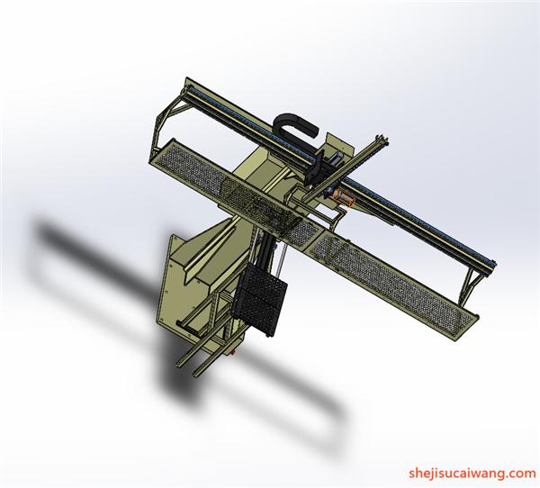工业机器人机械臂机械手Solidworks模型5