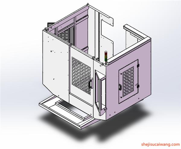 配电柜电气柜钣金模型5