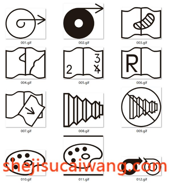 微缩摄影符号
