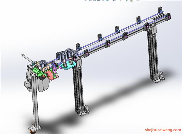 链板倍速链Solidwowrks模型9