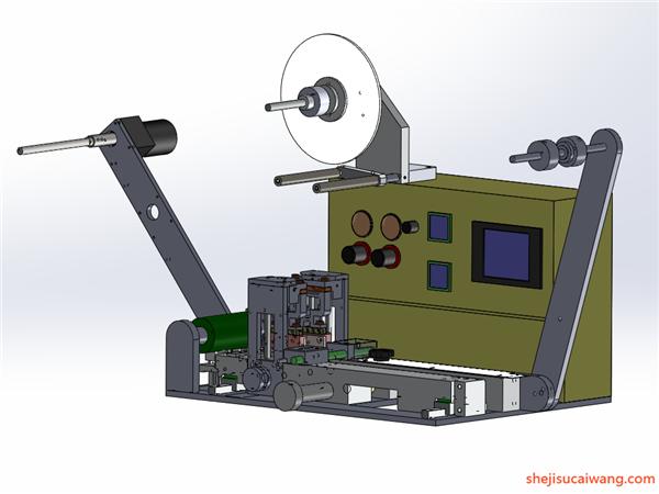 包装机设备模型1