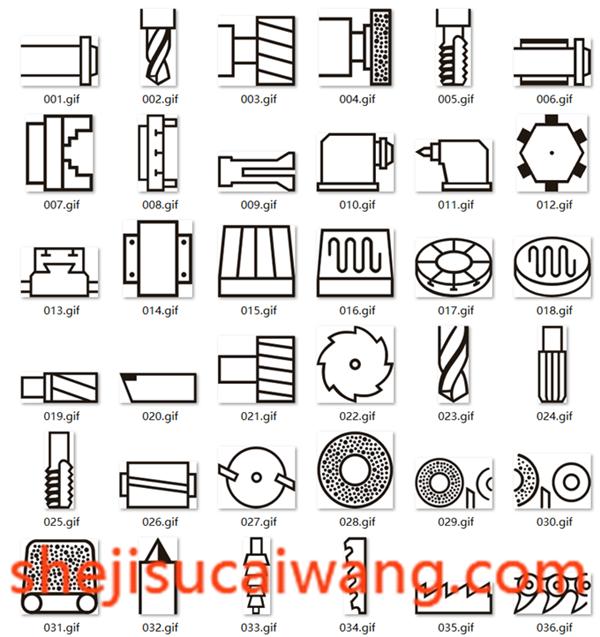 设备机床符号&数控机床符号