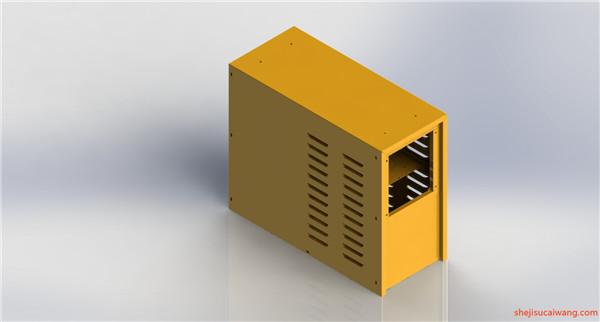 配电柜电气柜钣金模型2