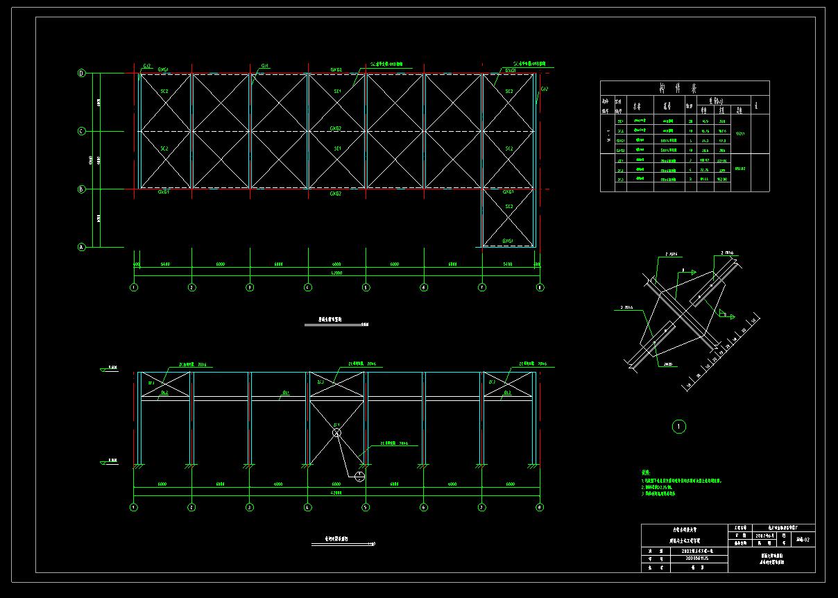 结构布置图1