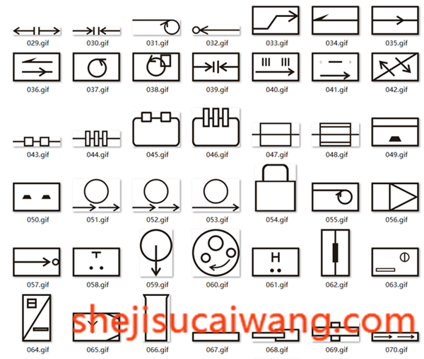 邮政设备符号