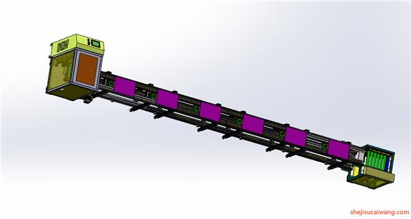 输送机Solidworks模型3