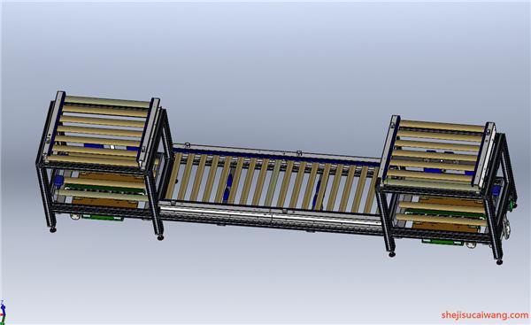 链板倍速链Solidwowrks模型11