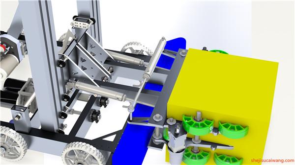 发动机变速器Solidworks模型2
