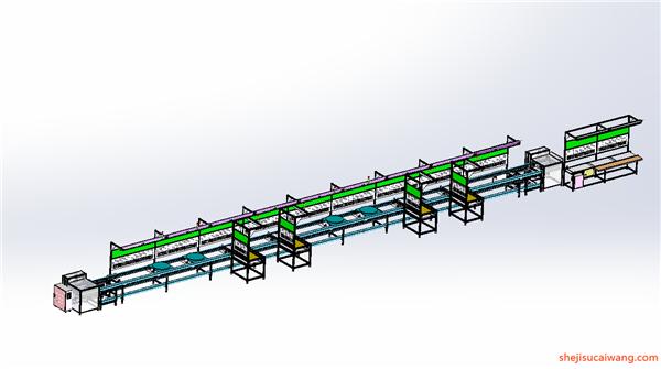 输送机Solidworks模型5