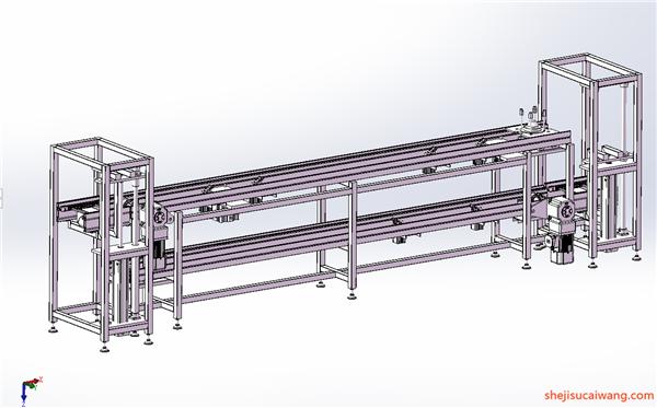 输送机Solidworks模型7