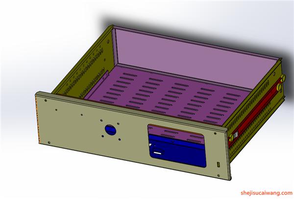 配电柜电气柜钣金模型6