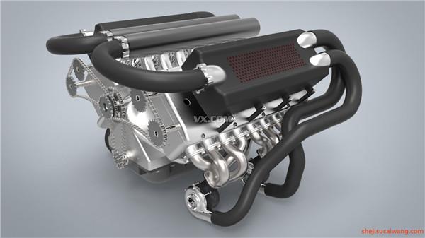 发动机变速器Solidworks模型9
