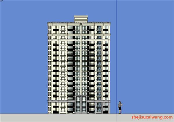 住宅建筑SU+CAD