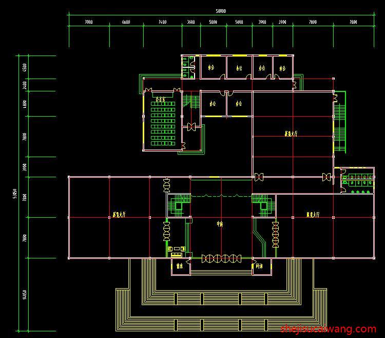 博物馆展览馆纪念馆CAD2