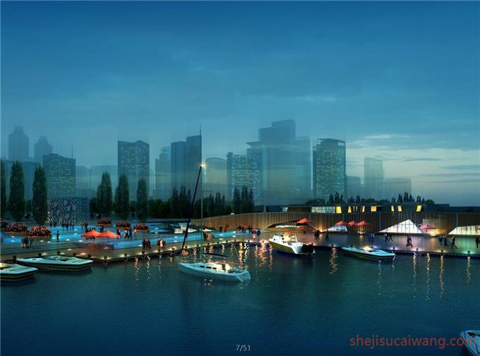 滨水滨河景观PS3