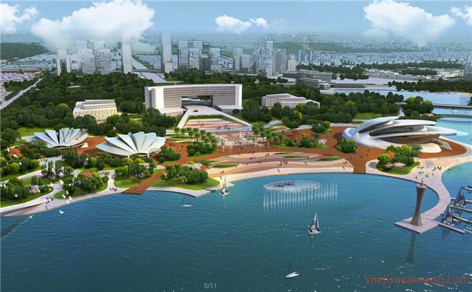 滨水滨河景观PS4