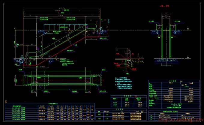 自动扶梯CAD6
