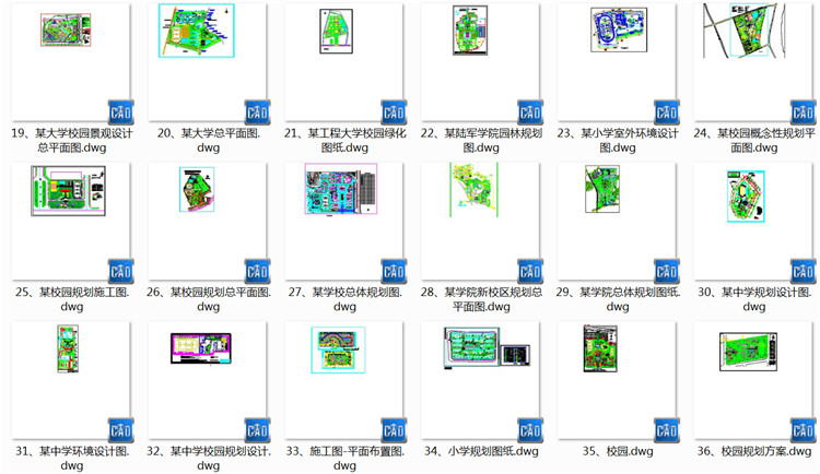03外国语学校总平面规划及景观设计