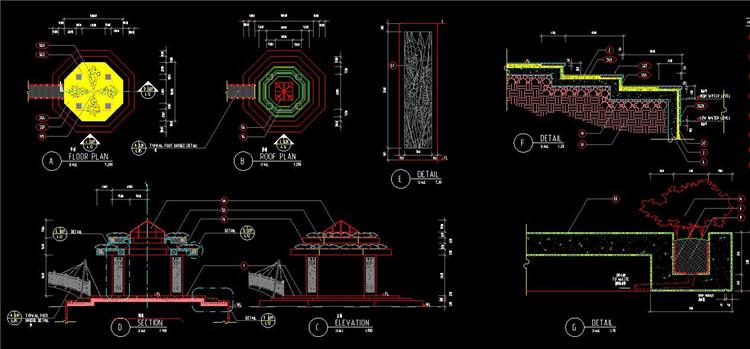 05台阶坡道CAD图纸