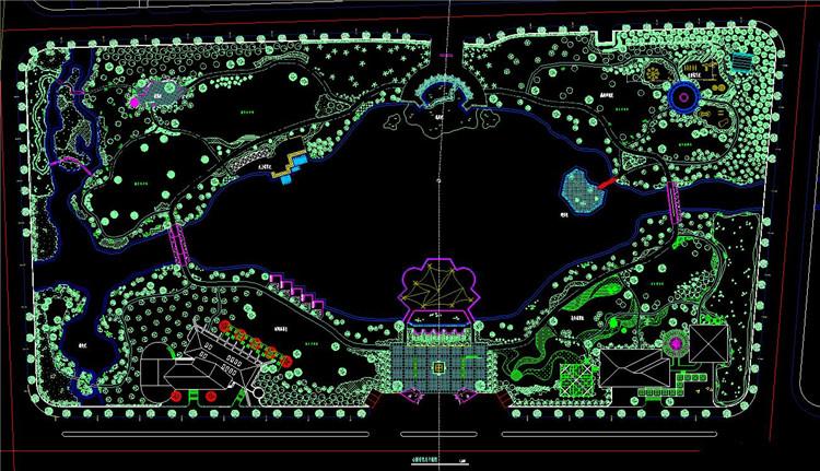 05某镇游园景观设计施工图