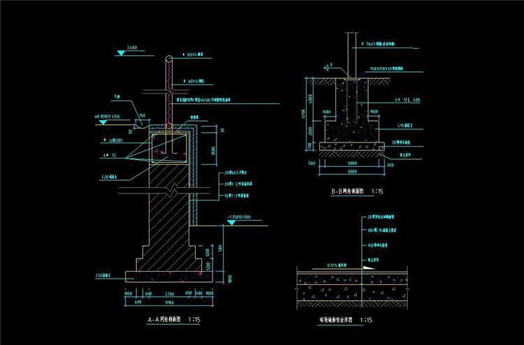 05游泳池CAD图纸