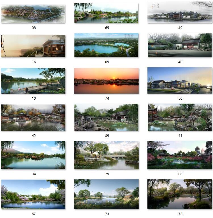05滨水园林图片