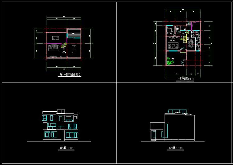 06住宅CAD图纸