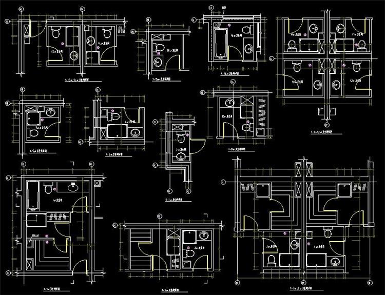 06卫生间CAD图纸
