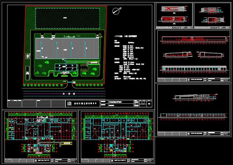 06厂房改造CAD平面图