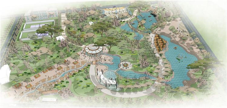 06大型公园SU模型