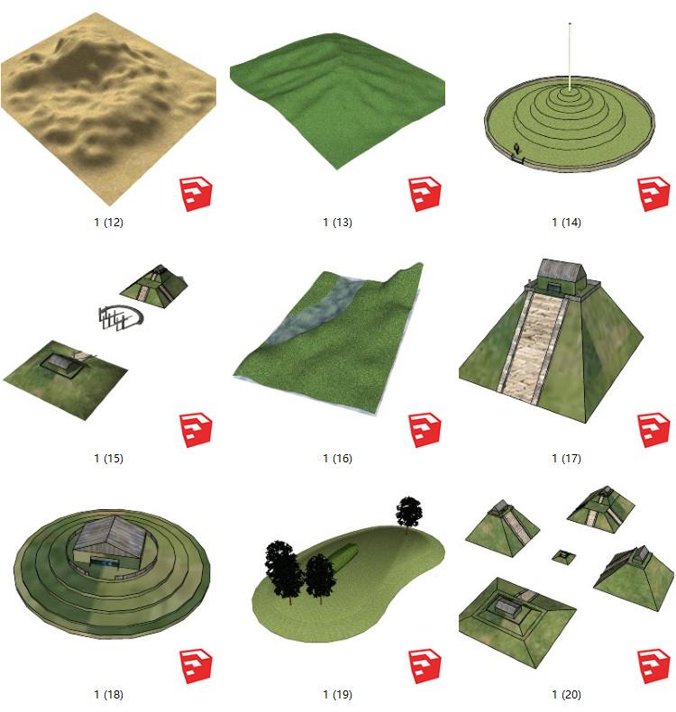06小岛地图的SU模型