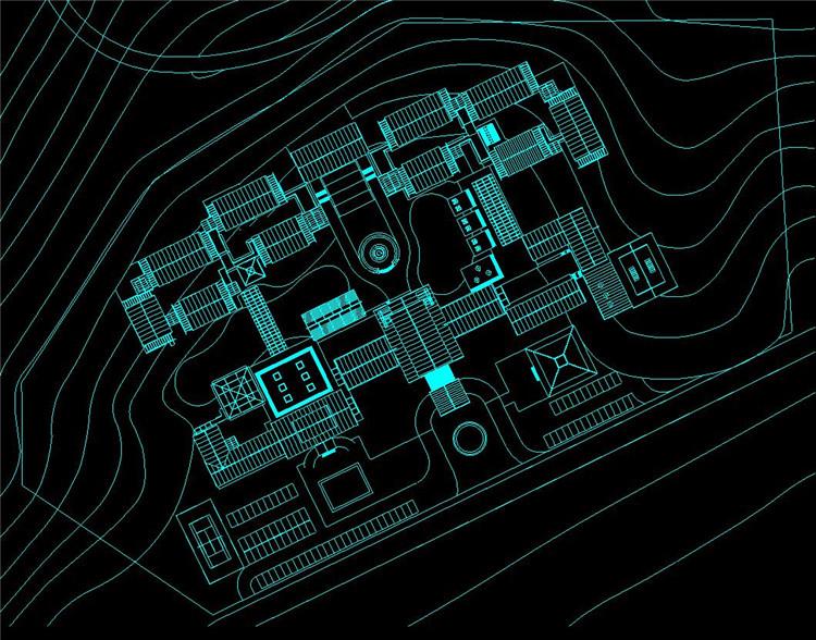 06山地旅馆CAD图纸