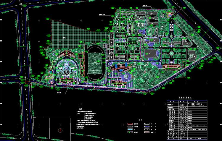 06校园规划图