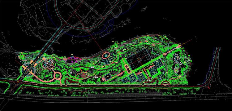 06湖滨公园CAD施工图