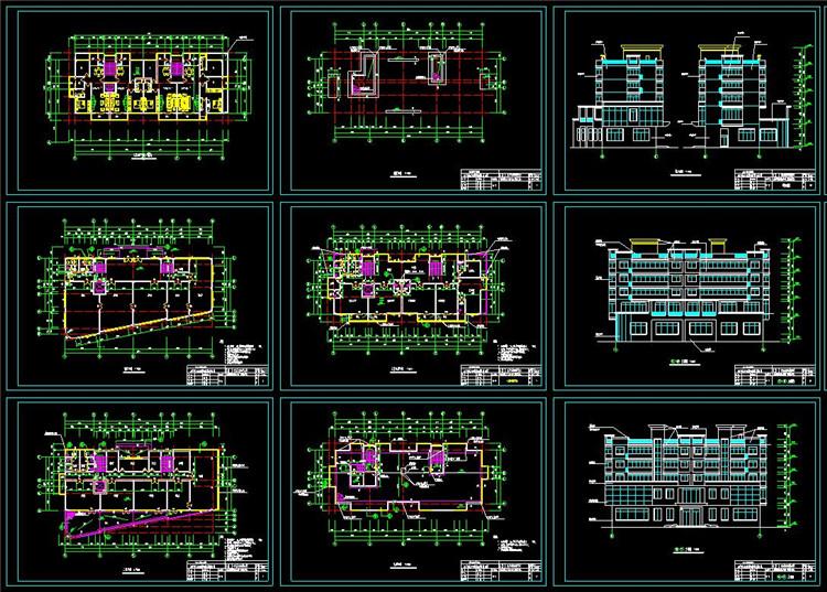 06老年公寓CAD图纸