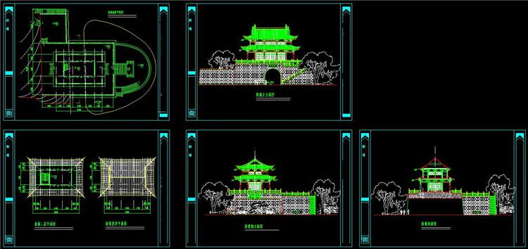 06鼓楼设计方案图