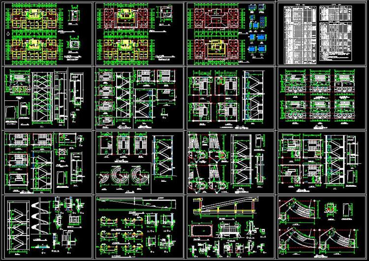 07公寓式办公楼梯施工详图