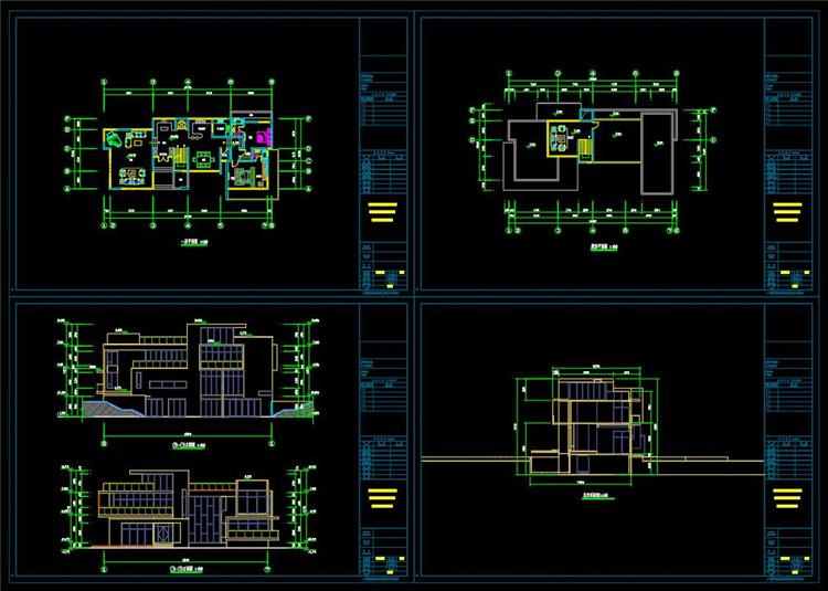 07别墅平面图