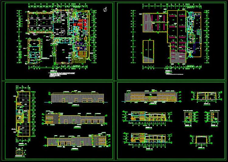 07厂房改造CAD施工图纸