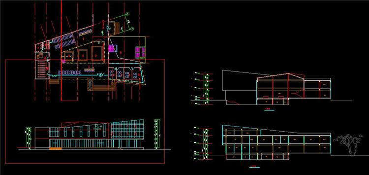 07售楼处CAD图纸2