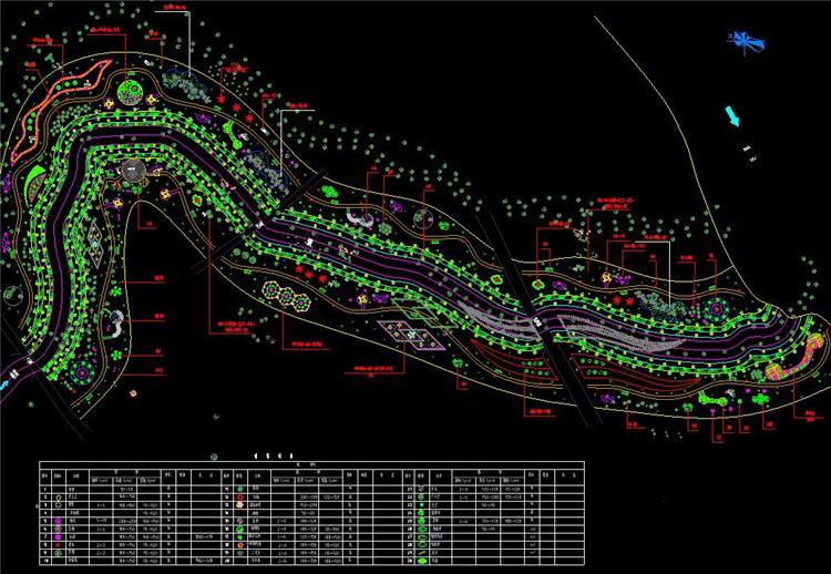07某渠生态景观设计图