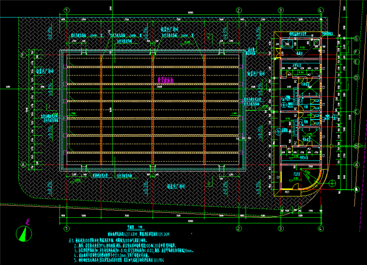 07标准游泳池平面图