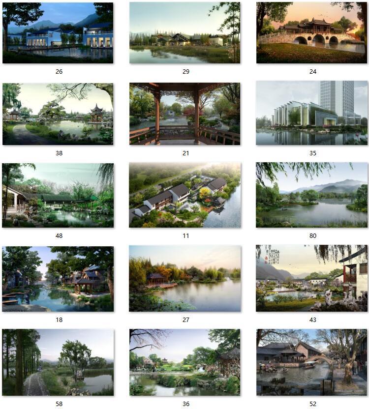 07滨水园林PSD文件