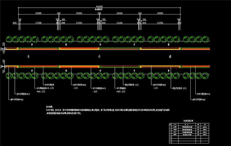 07道路绿化设计