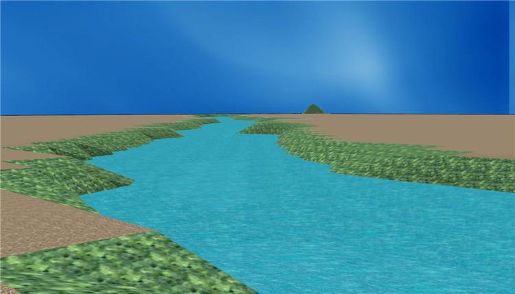 08大型河流SU模型