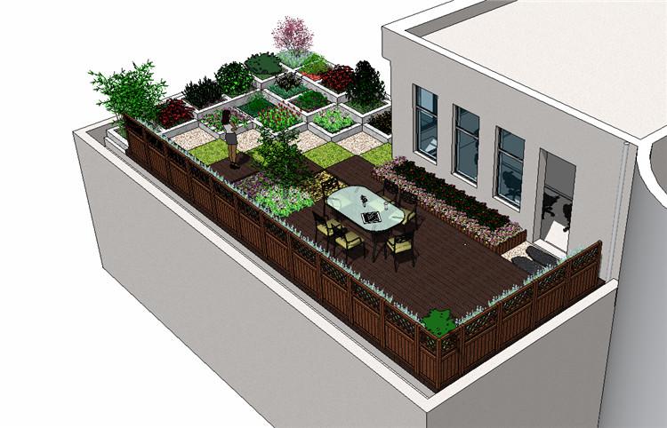 08庭院花园SU模型文件6