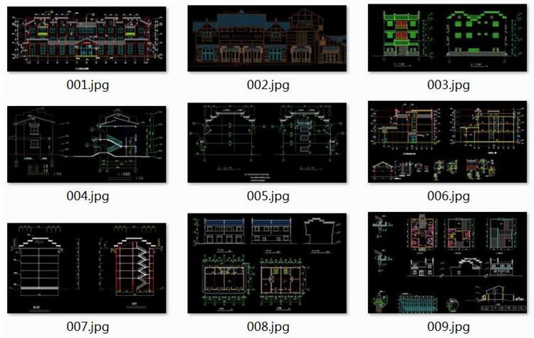 08微派建筑CAD施工图纸1