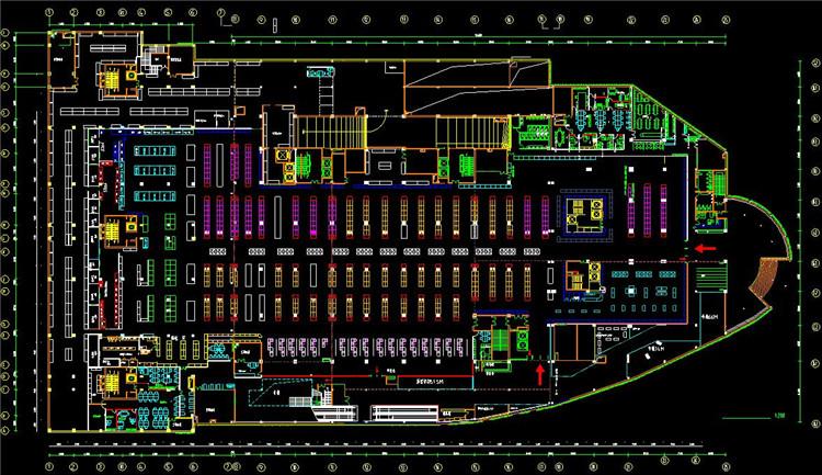 08超市方案图
